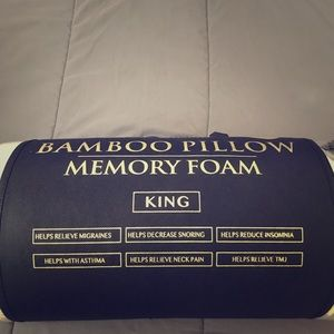 Other - Bamboo Memory foam pillows